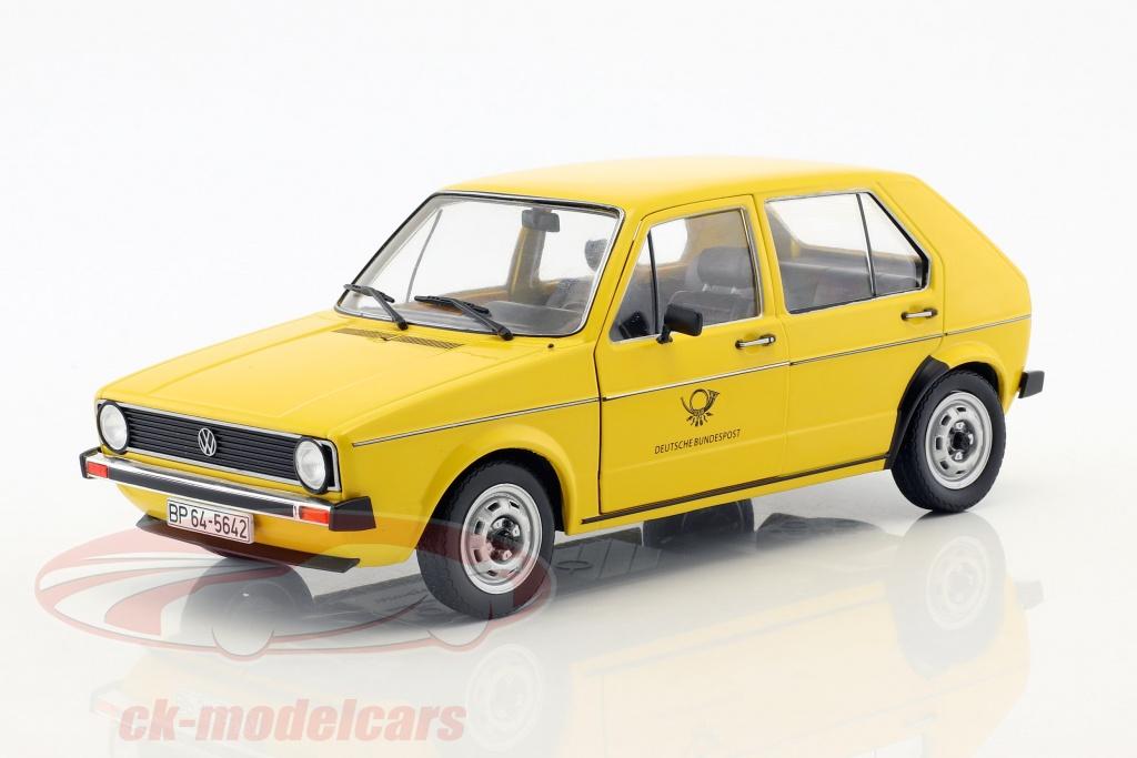 solido-1-18-volkswagen-vw-golf-mk1-allemand-poste-federal-annee-de-construction-1974-1978-jaune-s1800206/