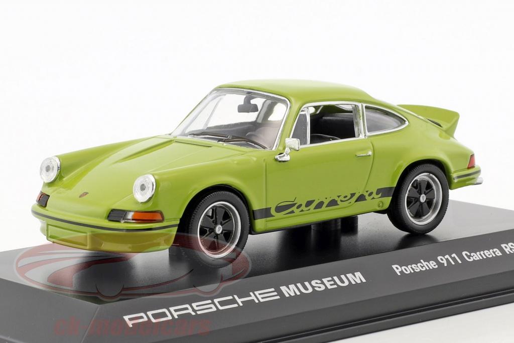 welly-1-43-porsche-911-carrera-rs-27-anno-di-costruzione-1973-giada-verde-nero-map01997317/