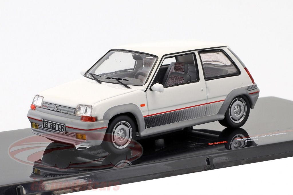 ixo-1-43-renault-5-gt-turbo-year-1985-white-clc303/