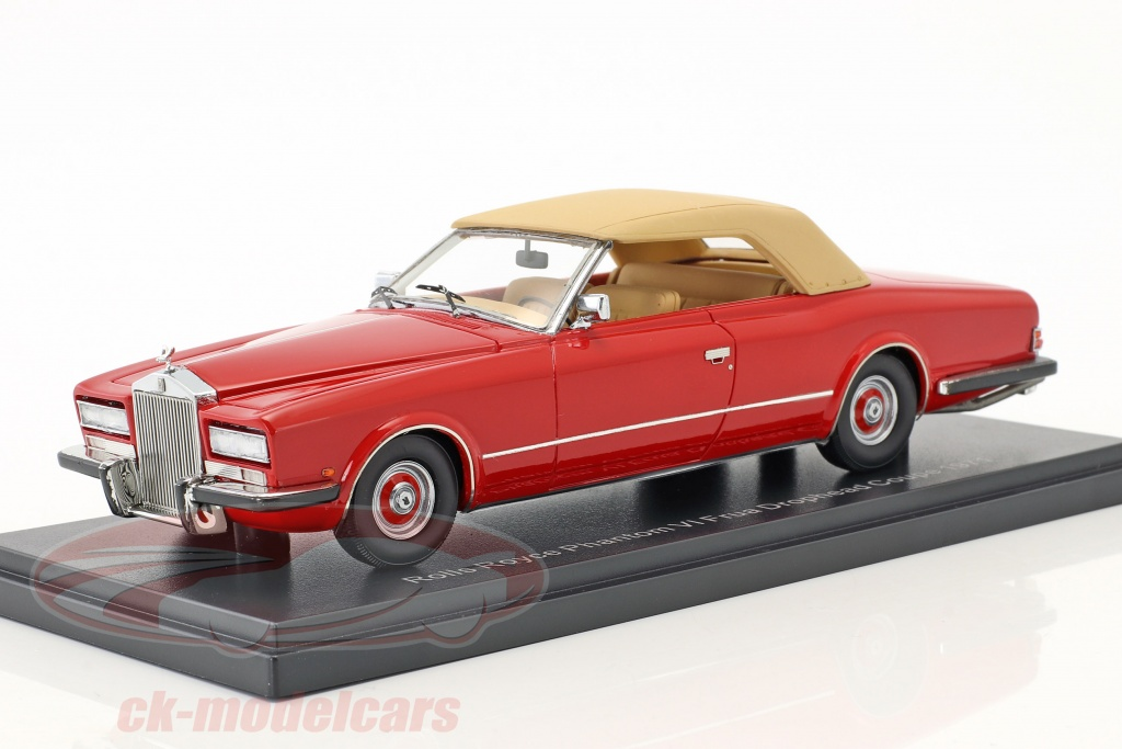 neo-1-43-rolls-royce-phantom-vi-frua-drophead-coupe-annee-de-construction-1971-rouge-beige-neo46486/