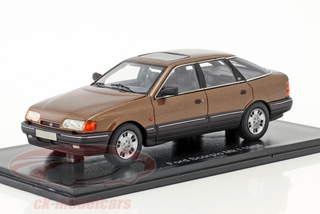 neo-1-43-ford-scorpio-ghia-mk1-year-1986-brown-metallic-neo49556/