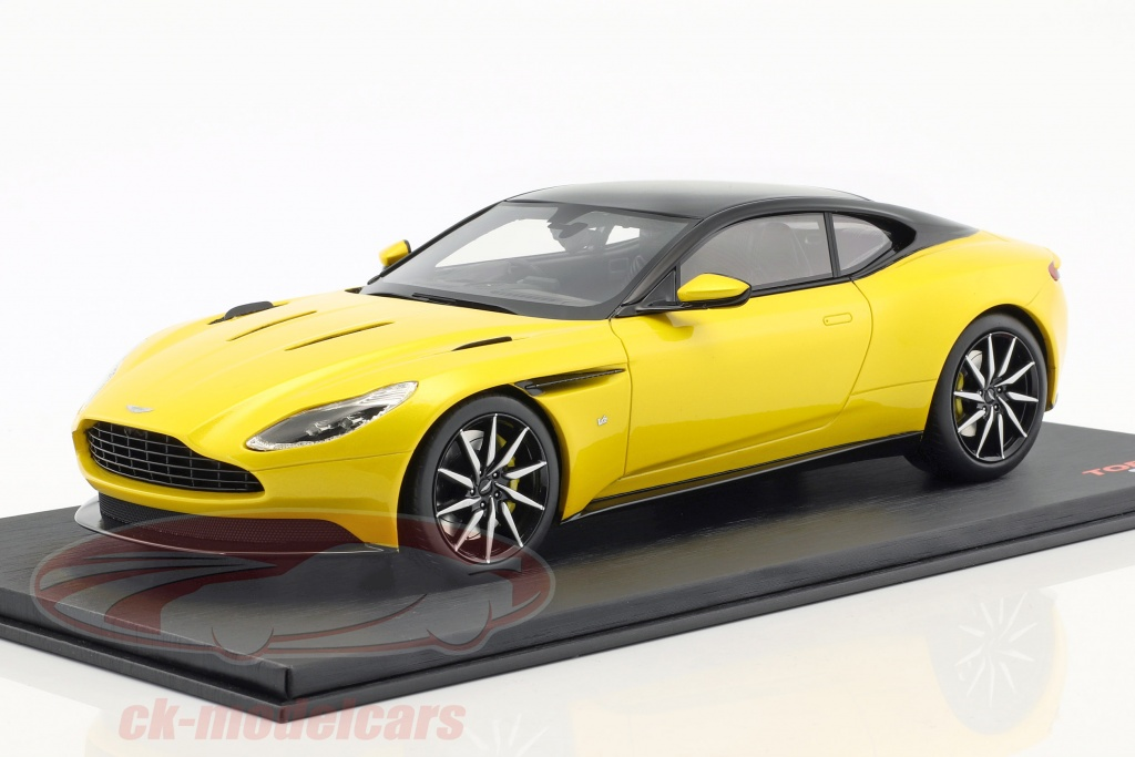 true-scale-1-18-aston-martin-db11-sunburst-jaune-ts0123/