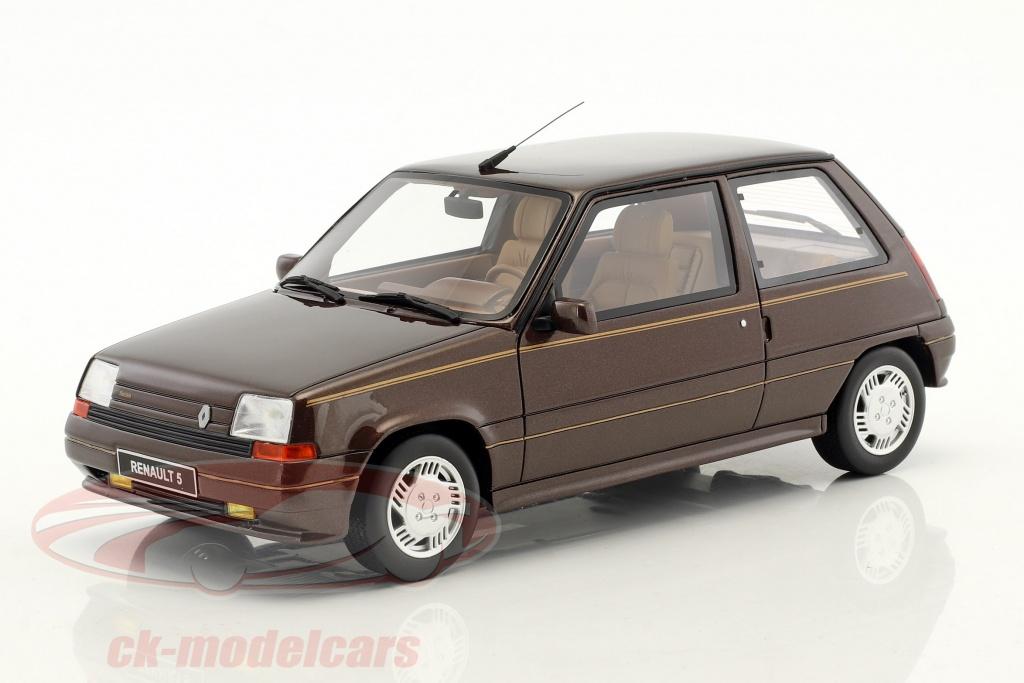 ottomobile-1-18-renault-super-5-baccara-anno-di-costruzione-1984-marrone-ot764/