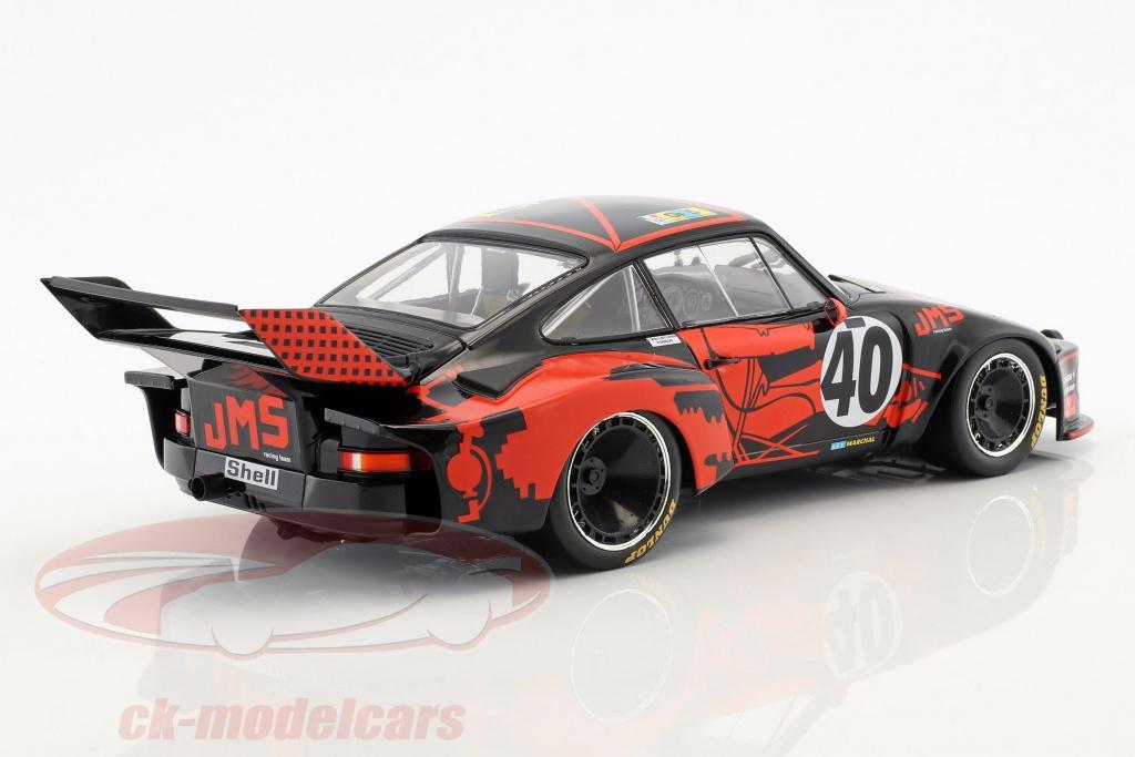 Porsche 935 #40 3rd 24h LeMans 1977 Ballot-Lena Gregg 1:18 Norev