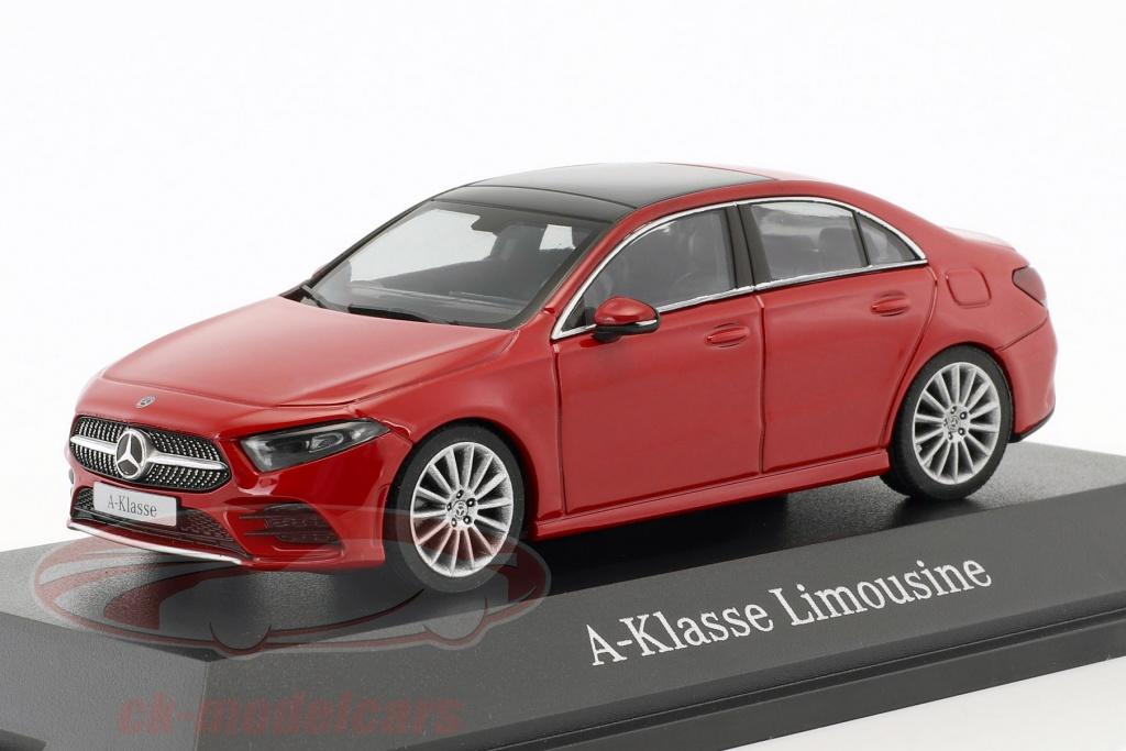 herpa-1-43-mercedes-benz-a-klasse-sedan-v177-bouwjaar-2018-jupiter-rood-b66960430/