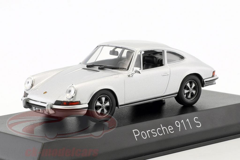 norev-1-43-porsche-911-s-24-annee-de-construction-1973-argent-750032/
