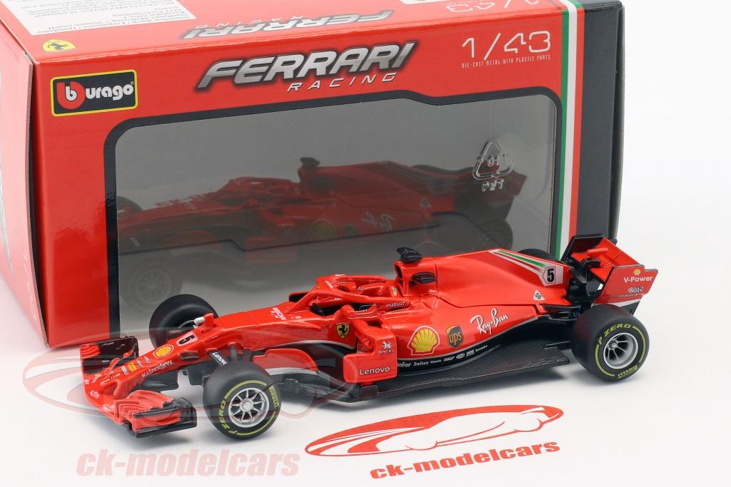 Bburago 1:43 Sebastian Vettel Ferrari SF71H #5 formula 1