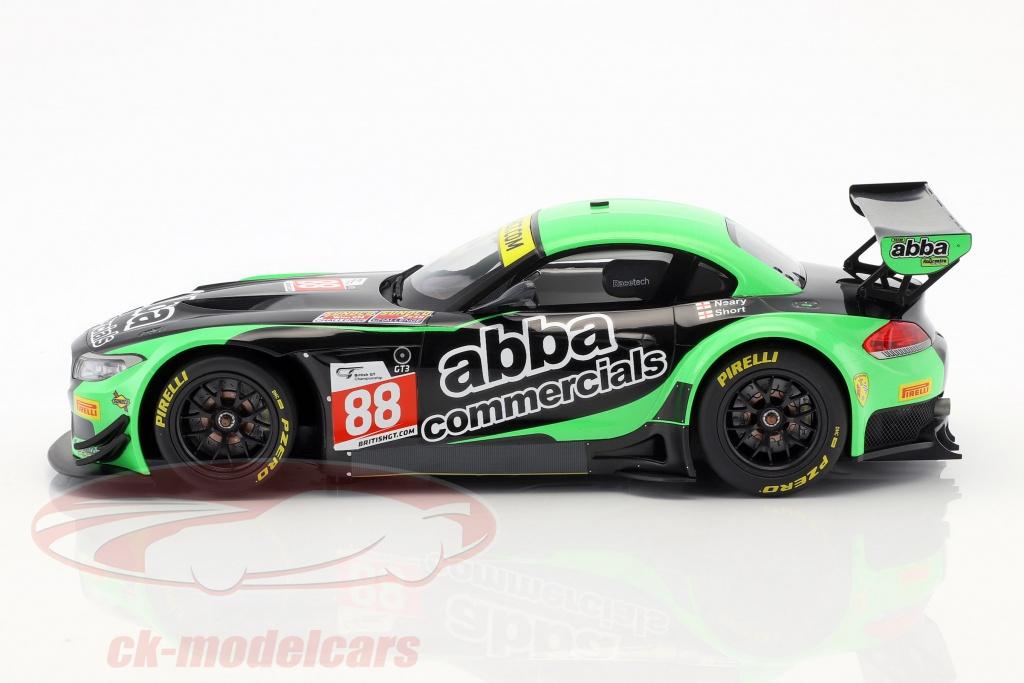 – TEAM ABBA W// ROLLCENTRE RACING 2016 E89 Minichamps 1:18 BMW Z4 GT3