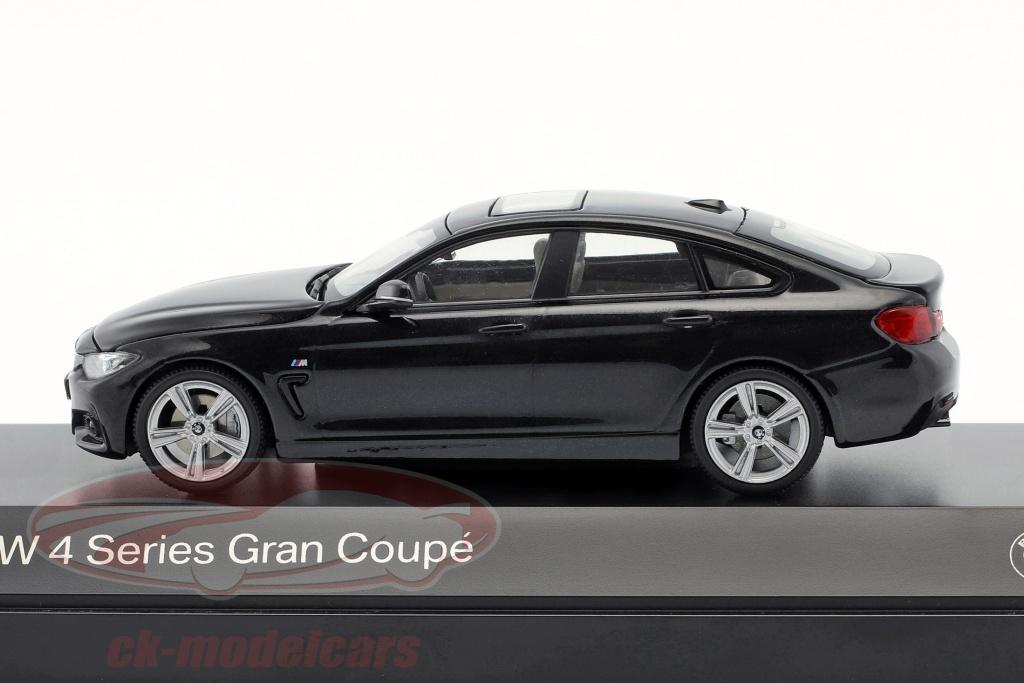 Gran Coupe estoril azul 1:43 Kyosho Bmw 4er 4 series f36