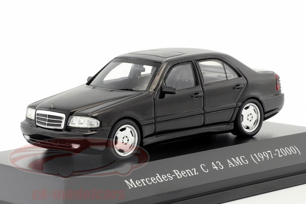 spark-1-43-mercedes-benz-c43-amg-baujahr-1997-2000-schwarz-b66041043/