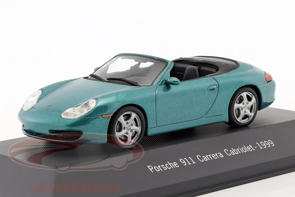 atlas-1-43-porsche-911-996-carrera-cabriolet-annee-de-construction-1999-vert-metallique-4017-7114017/