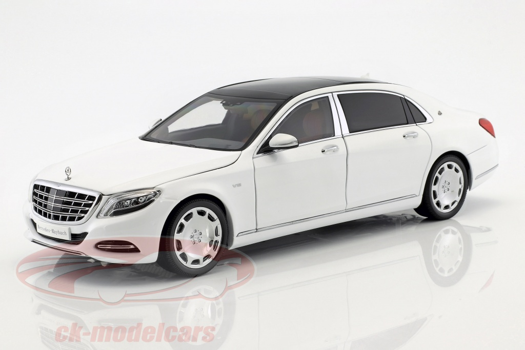 almost-real-1-18-mercedes-benz-maybach-s-class-annee-de-construction-2016-diamant-blanc-alm820101/