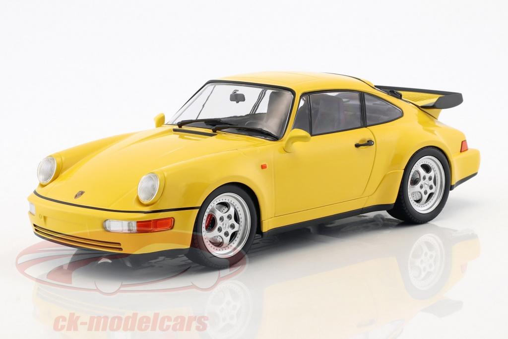 minichamps-1-18-porsche-911-964-turbo-anno-di-costruzione-1990-giallo-155069100/