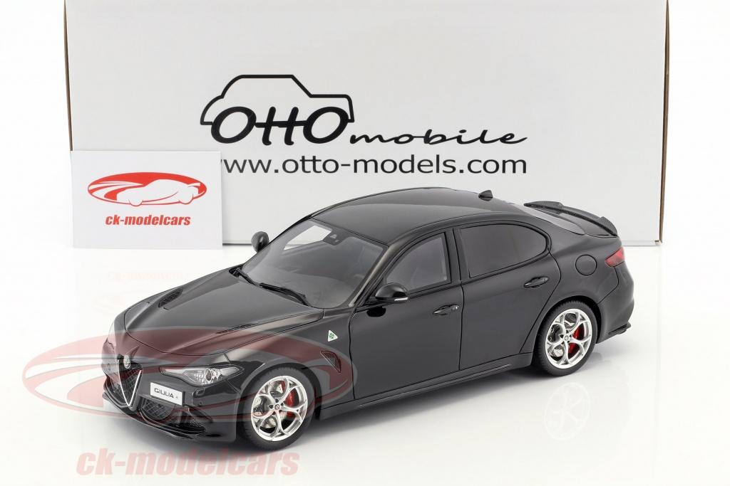 Ottomobile 1 18 Alfa Romeo Giulia Quadrifoglio Year 2016 Black Ot793