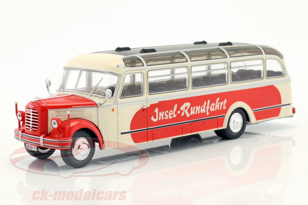 ixo-1-43-borgward-bo-4000-eiland-tour-bouwjaar-1952-beige-rood-bus014/
