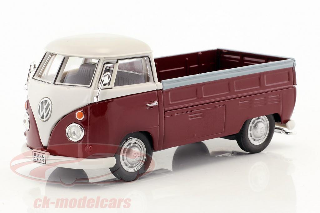 cararama-1-43-volkswagen-vw-t1-pick-up-baujahr-1960-dunkelrot-weiss-13440-251pnd6r/