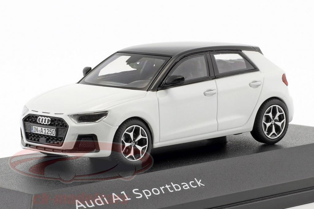 iscale-1-43-audi-a1-sportback-gb-ano-de-construcao-2018-geleira-branco-5011801031/