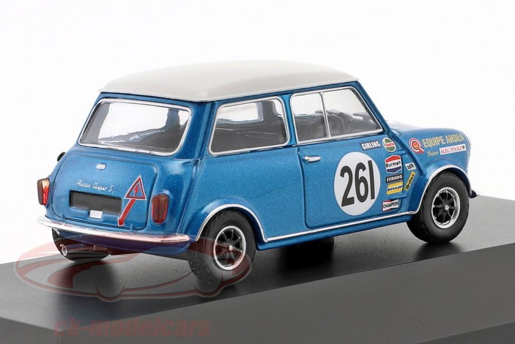 Atlas 143 Alec Poole Austin Mini Cooper S 261 Btcc Champion 1969