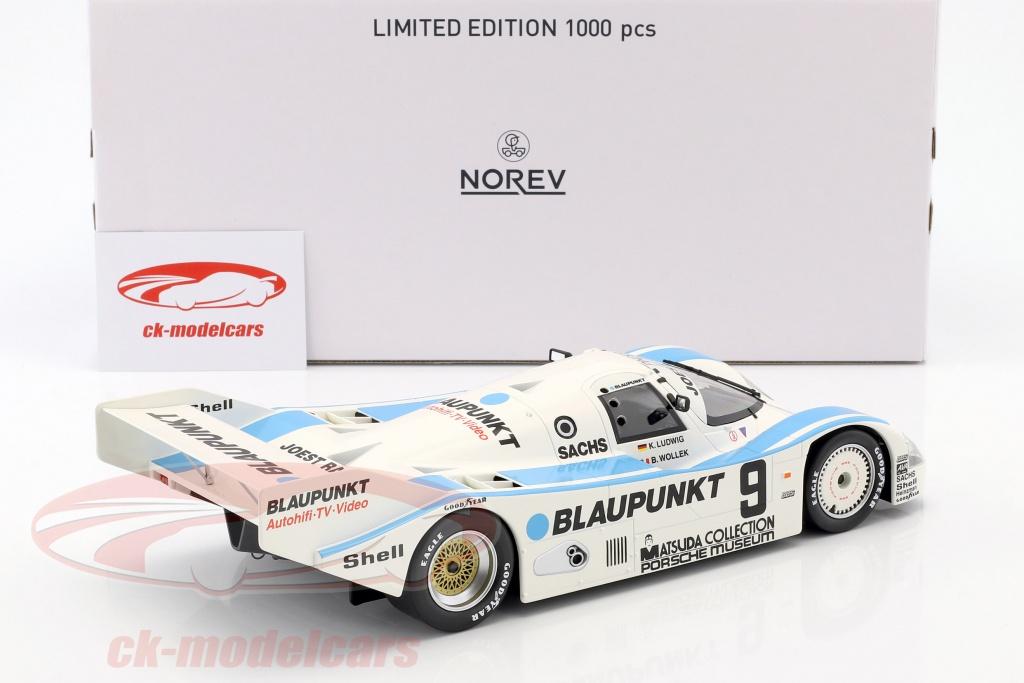 1000 KM DU NURBURGRING 1987-187407 NOREV 1//18 PORSCHE 962 C