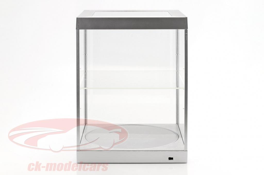 enkeltvrelse-udstillingsvindue-og-rotary-bord-til-modelcars-i-skala-1-18-slv-triple9-t9-69929s/