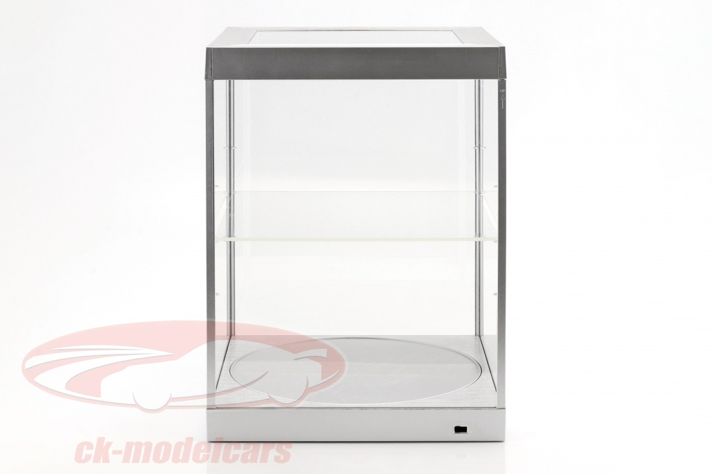 single-showcase-and-rotary-table-for-modelcars-in-scale-1-18-silver-triple9-t9-69929s/