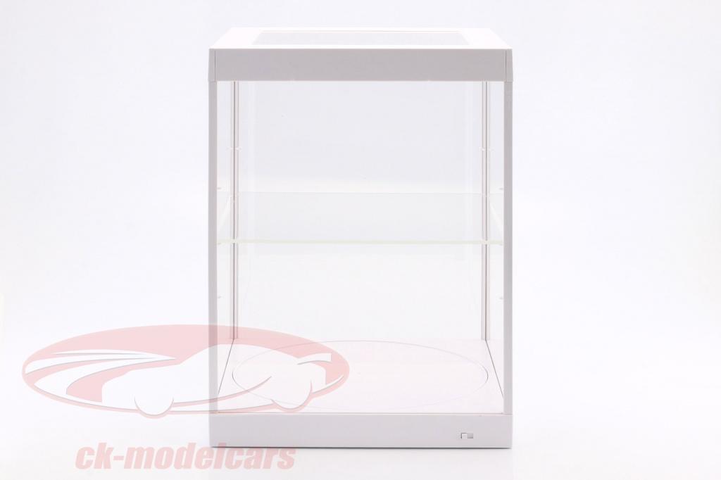 enkeltvrelse-udstillingsvindue-og-rotary-bord-til-modelcars-i-skala-1-18-hvid-triple9-t9-69929w/