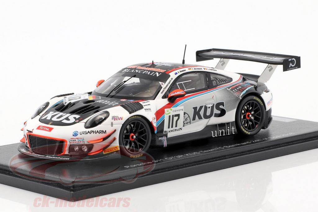 Porsche 911 991 GT3 R 117 24h Spa 2018 KS Team75 Bernhard 1