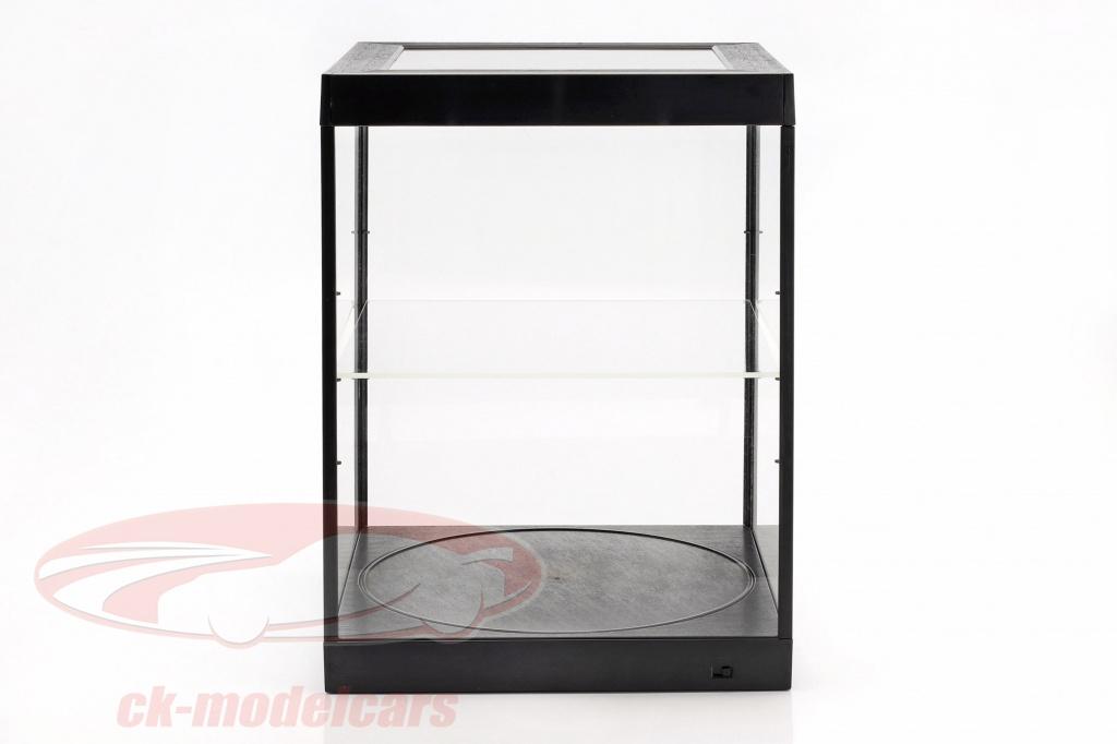 unique-afficher-cas-et-rotatif-table-pour-modelcars-en-echelle-1-18-noir-triple9-t9-69929bk/
