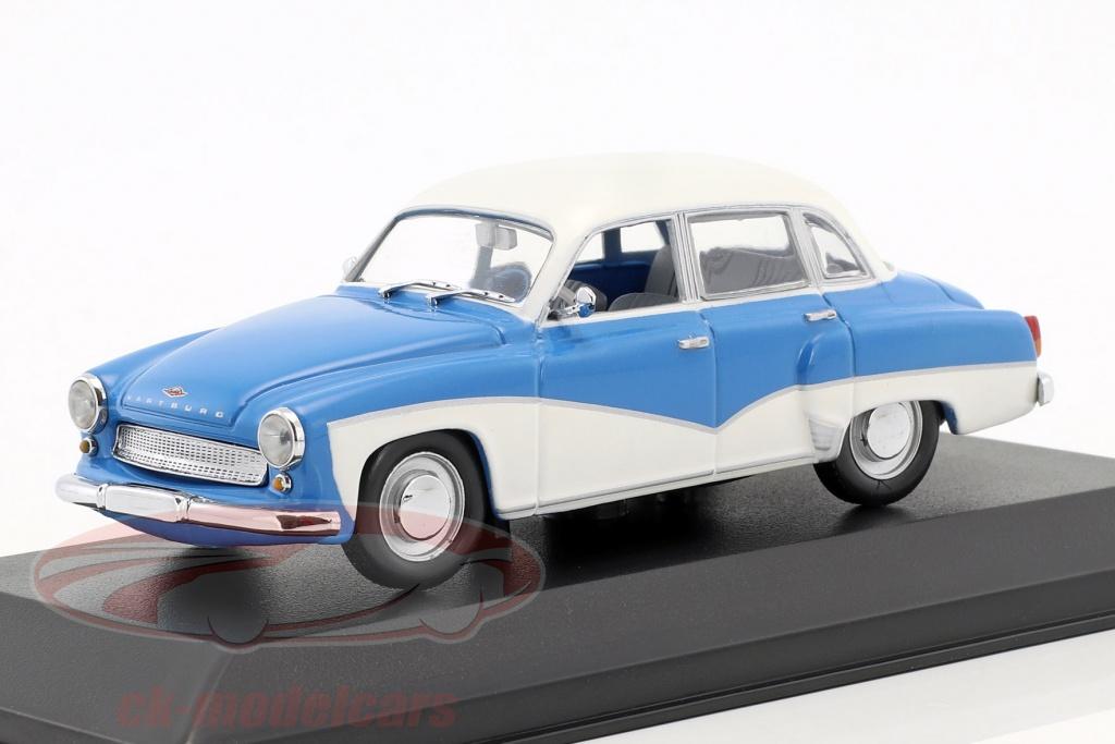 minichamps-1-43-wartburg-311-annee-de-construction-1955-1965-bleu-blanc-faux-suremballage-ck50903/