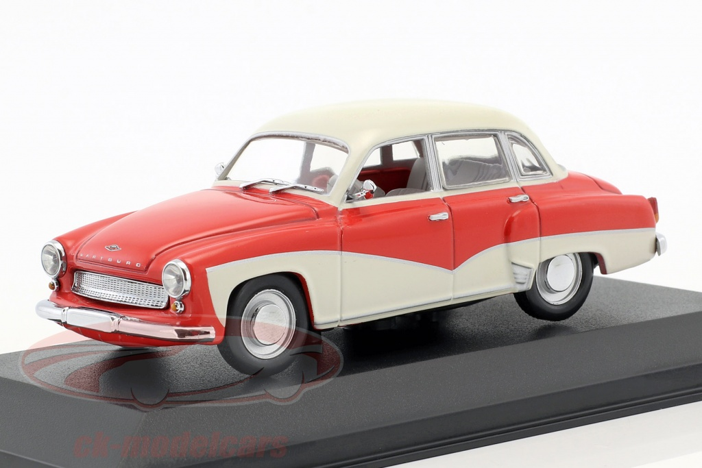 minichamps-1-43-wartburg-311-ano-de-construcao-1955-1965-vermelho-branco-falso-overpack-ck50909/