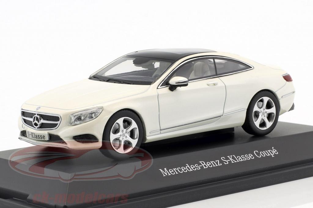 kyosho-1-43-mercedes-benz-s-class-coupe-diamond-white-metallic-b66961239/