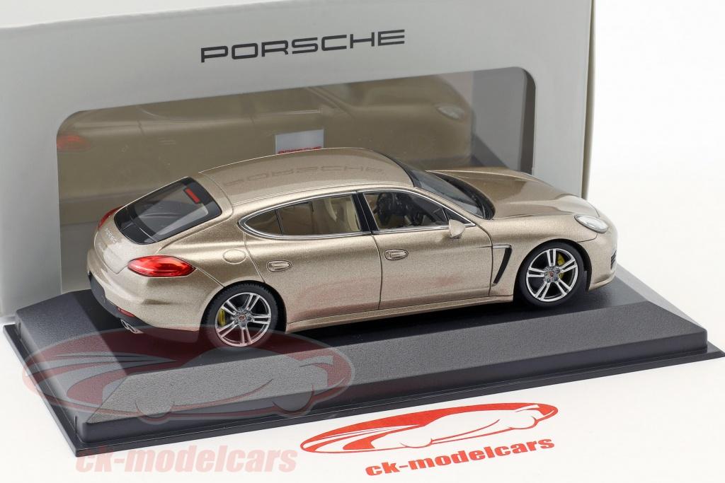 II Schwarz Porsche Panamera Turbo Gen Minichamps 1:43 WAP0204300E