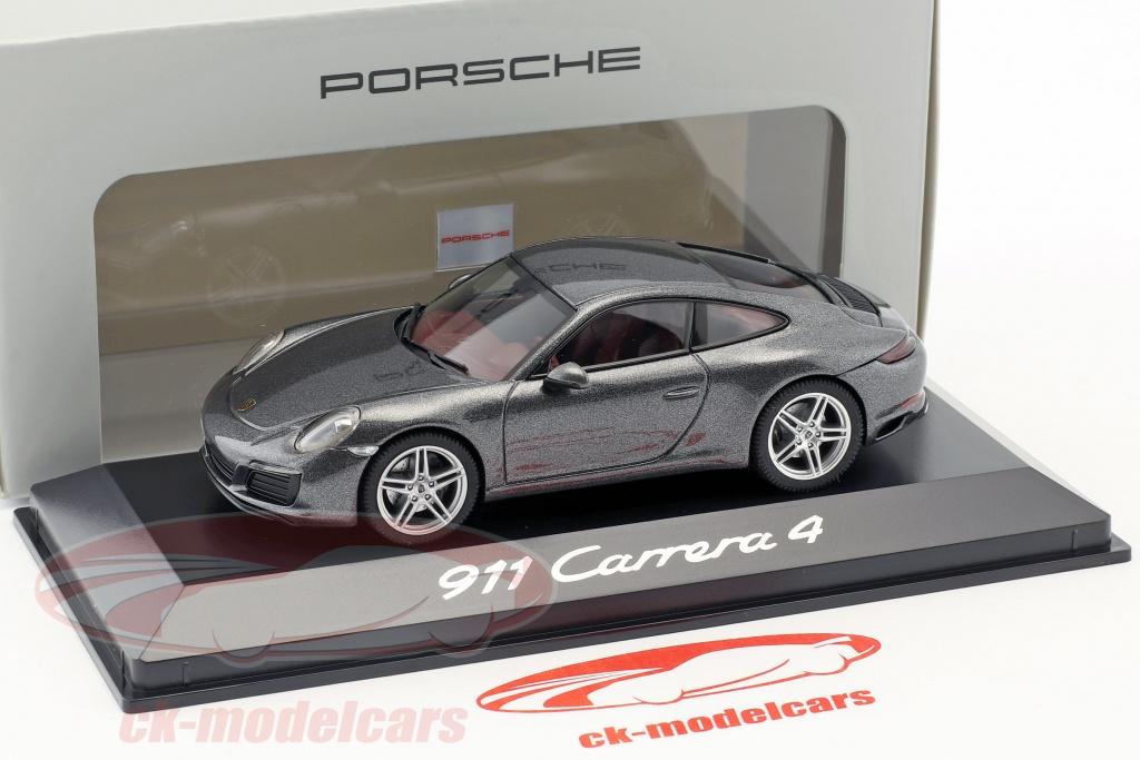 991.2 Herpa Porsche 911 Turbo-plata #wap0201320g 1:43