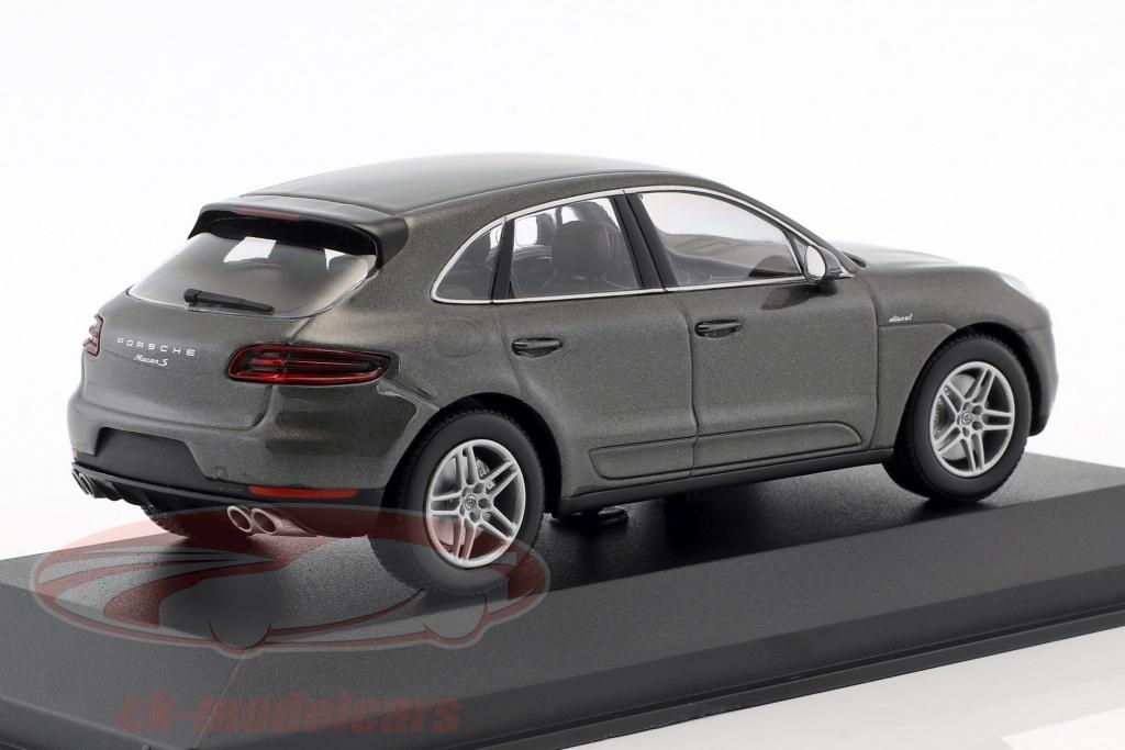 Porsche Macan SUV Grau Metallic Ab 2013 1//43 Minichamps Modell Auto mit oder ohn