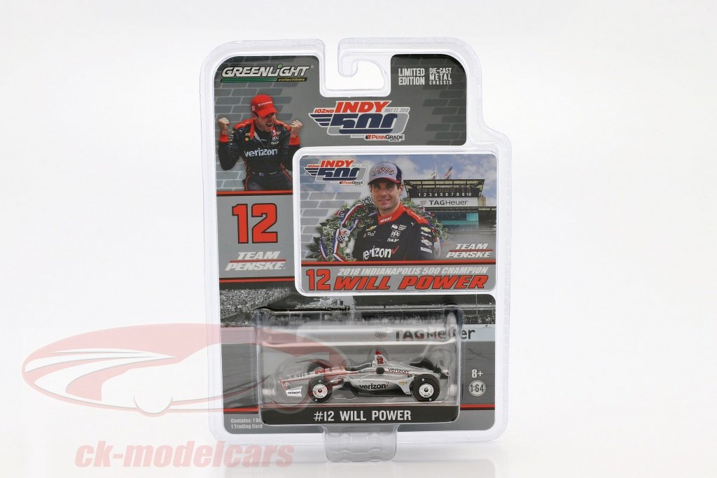 greenlight-1-64-will-power-chevrolet-no12-gagnant-indy-500-champion-indycar-series-2018-team-penske-10825/