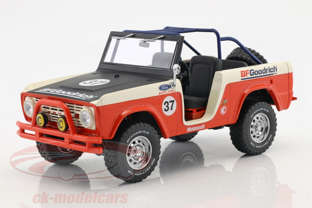 greenlight-1-18-ford-baja-bronco-annee-de-construction-1966-rouge-blanc-noir-19037/