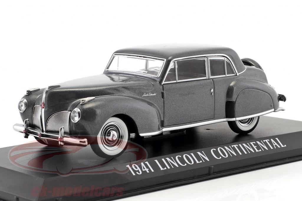 greenlight-1-43-lincoln-continental-year-1941-grey-metallic-86325/