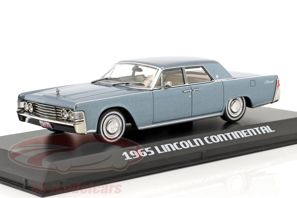 greenlight-1-43-lincoln-continental-annee-de-construction-1965-madison-gris-86329/