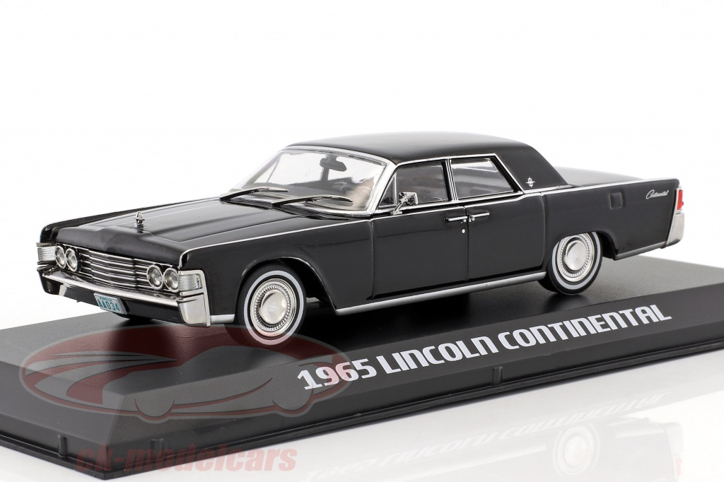 greenlight-1-43-lincoln-continental-annee-de-construction-1965-film-the-matrix-1999-noir-86512/