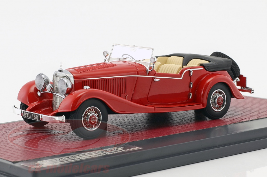 matrix-1-43-mercedes-benz-500k-tourer-mayfair-open-top-ano-de-construcao-1934-vermelho-mx41302-141/
