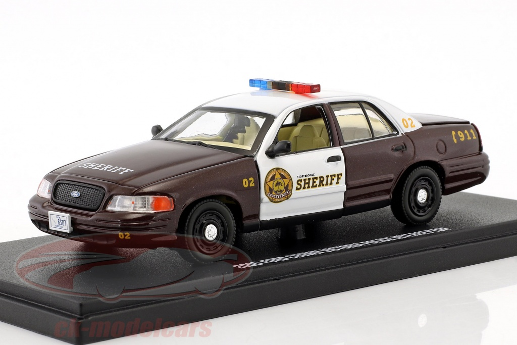 greenlight-1-43-ford-crown-victoria-police-interceptor-2005-tv-serie-storybrooke-once-upon-a-time-86525/