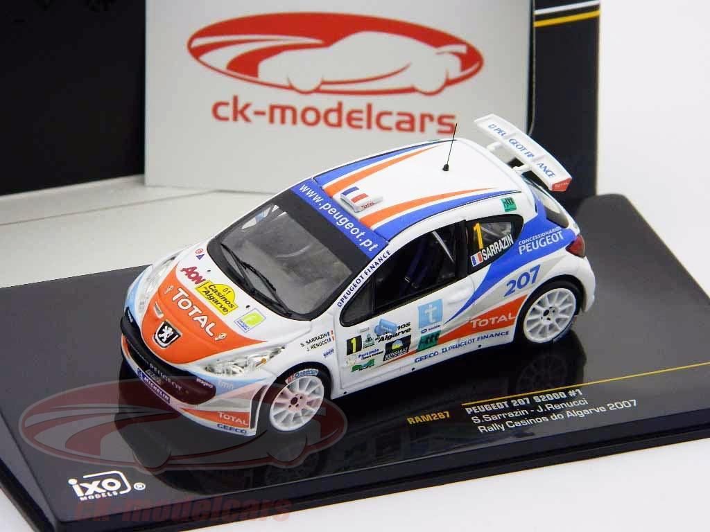 ixo-1-43-peugeot-207-s2000-no1-rally-casinos-do-algarve-2007-ram287/