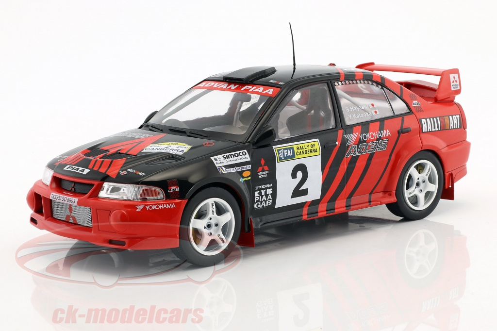 triple9-1-18-mitsubishi-lancer-evo-vi-no2-vinder-rallye-of-canberra-1999-kataoka-hayashi-t9-1800210/