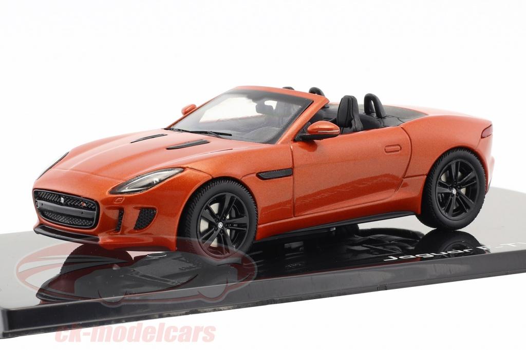 ixo-1-43-jaguar-f-type-v8-s-cabriolet-opfrselsr-2013-brand-sand-metallisk-50jdcaftv8/