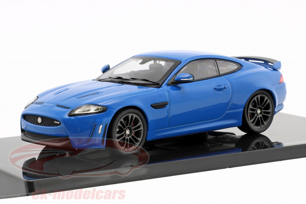 ixo-1-43-jaguar-xkr-s-bouwjaar-2011-french-racing-blauw-50jdcaxkrs/