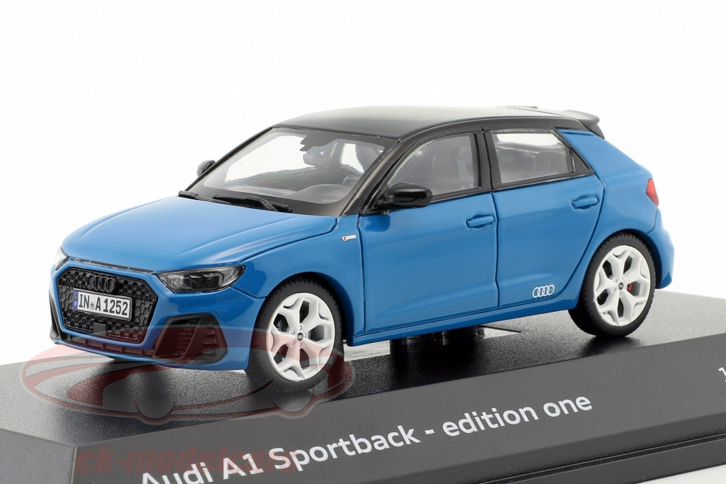 paragonmodels-1-43-audi-a1-gb-sportback-30-tfsi-edition-one-year-2018-turbo-blue-paragon-models-5011811031/