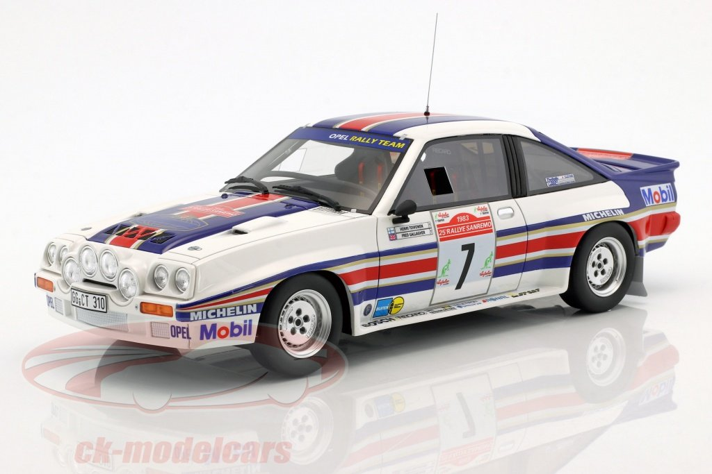 ottomobile-1-18-opel-manta-400r-grb-no7-4-rallye-sanremo-1983-toivonen-gallagher-ot761/