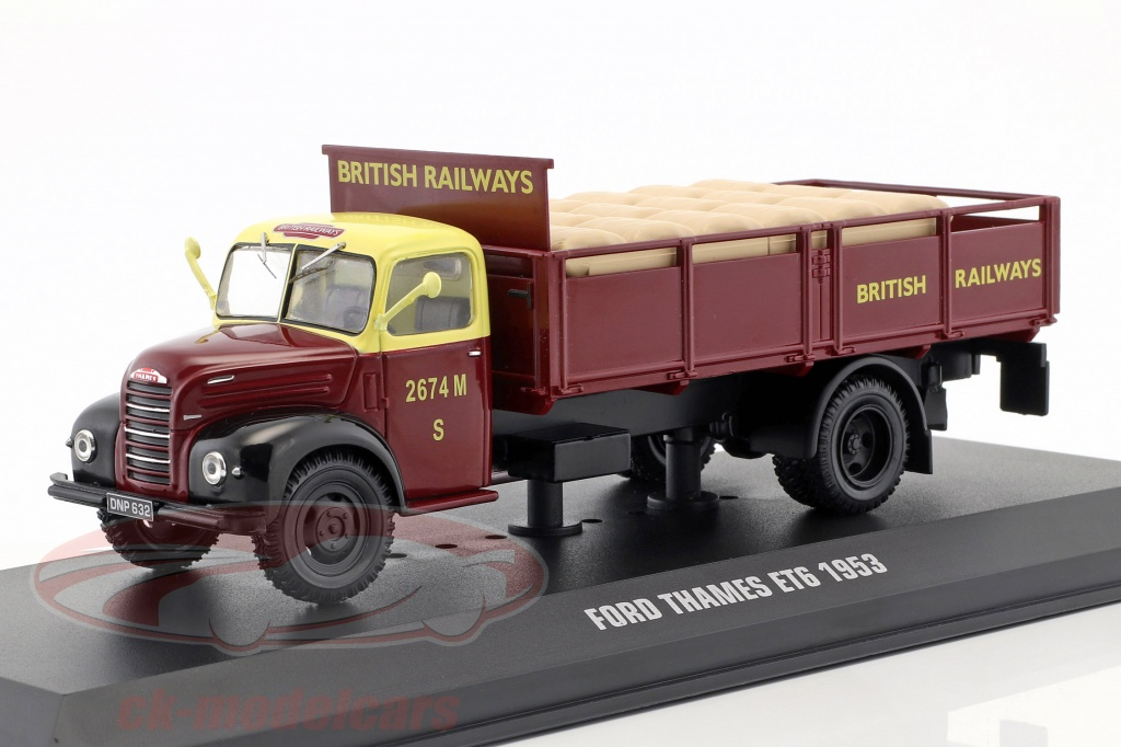 ixo-1-43-ford-thames-et6-british-rail-annee-de-construction-1953-sombre-rouge-tru018/