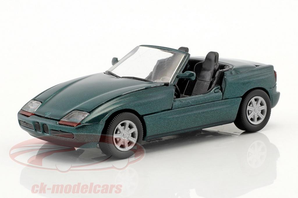 schabak-1-43-bmw-z1-e30-z-roadster-annee-de-construction-1989-vert-fonce-metallique-schabakz1gn-1160/