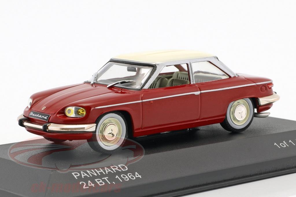 whitebox-1-43-panhard-24-bt-year-1964-red-cream-white-wb112/